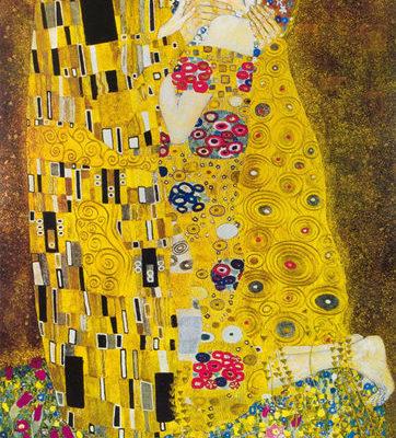 Tapisserie le baiser de Klimt