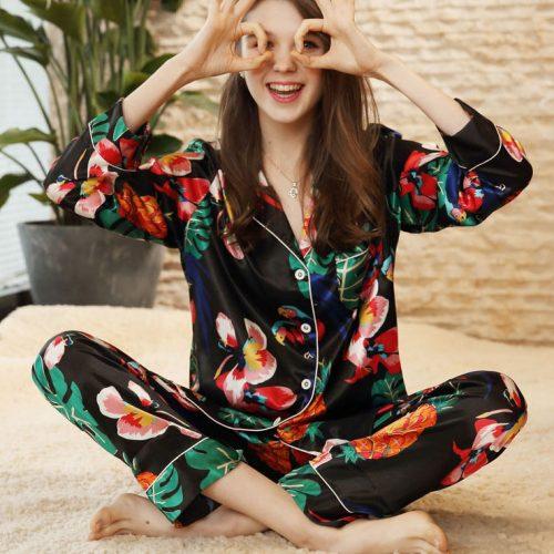 Linge de Lit-Pyjamas- Soie