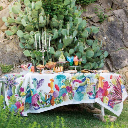 Linge de Table-Nappes- Collection Toscana tessiturie